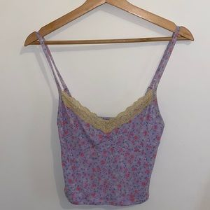 Glassons cropped floral top